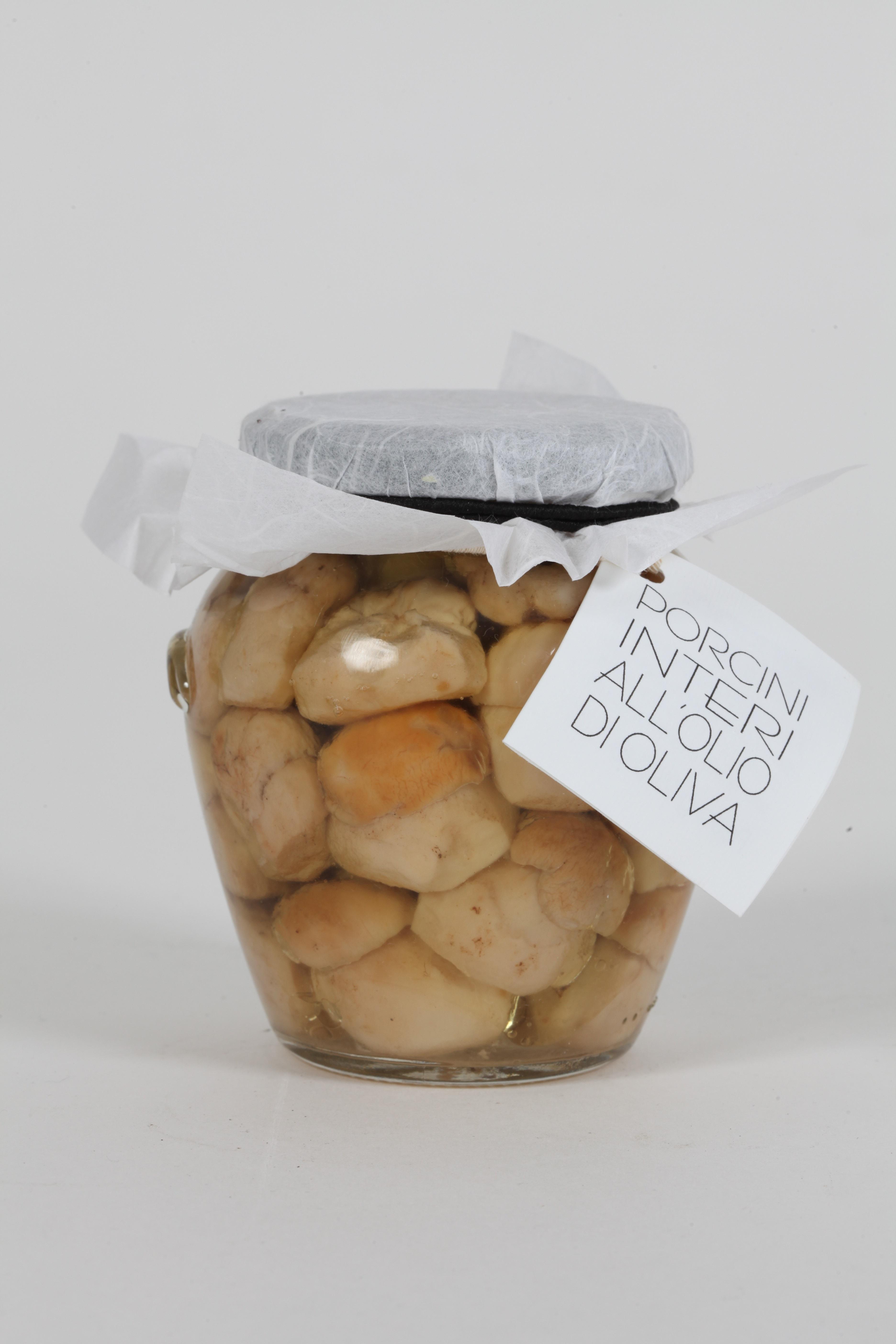 CANTALUPPI - Funghi Porcini Interi All'olio d'oliva Gr. 290